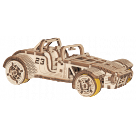 "Puzzle 3D en bois ""Roadster"" - Wooden City WR337"